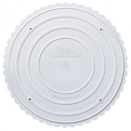 Plato separador de tartas borde de conchas 22,5 cm