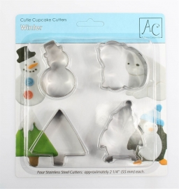 Winter Cookie Cutter Set AC