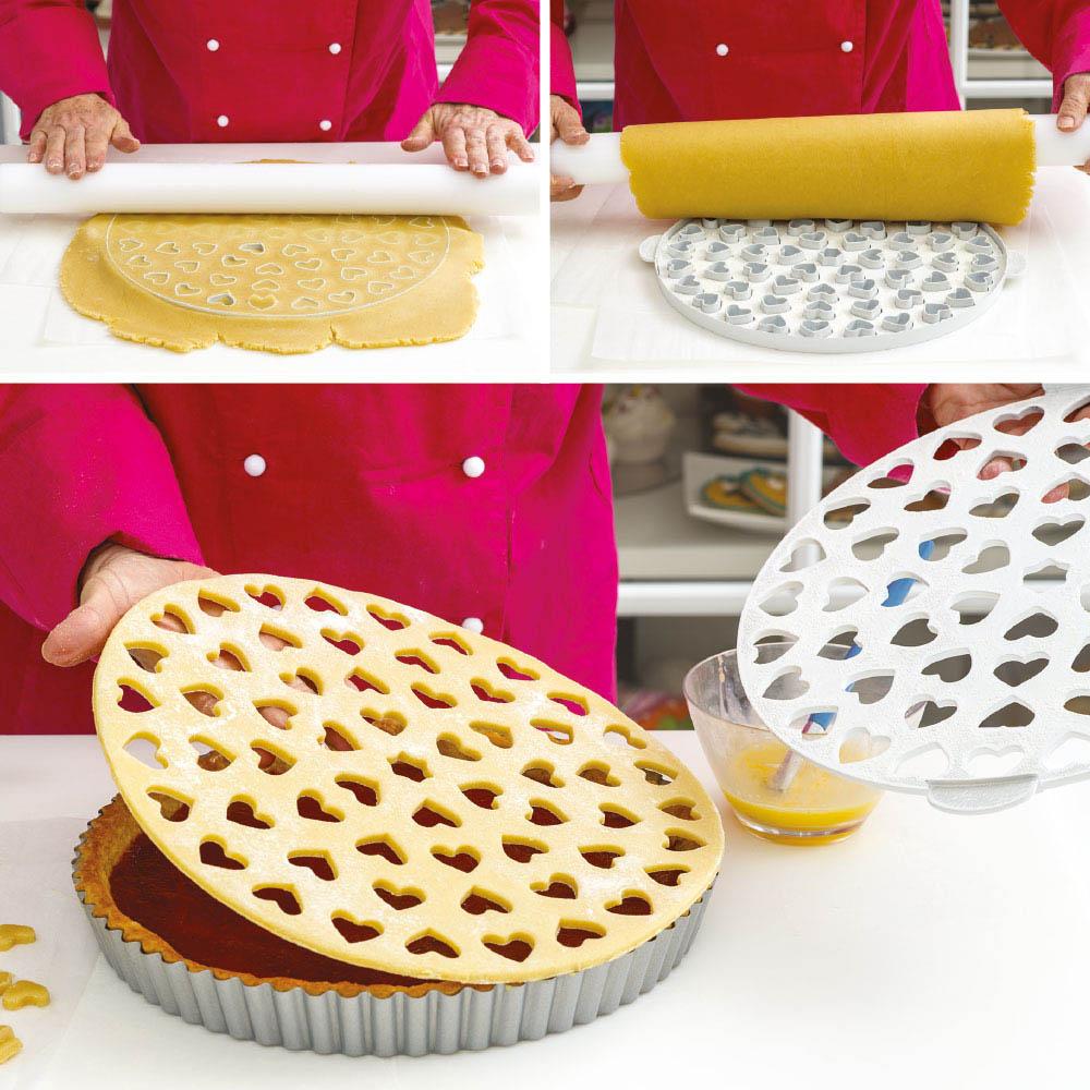 Cortador para Masa de Tarta: Crostata, Pasta Frola, Hojaldre