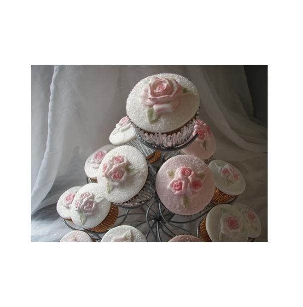 Molde silicona cupcake top rosa my karamelli - Moldes cupcakes silicona ...