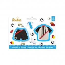 Set de 2 Cortadores Camiseta y Pantalón Fútbol