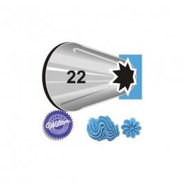 Boquilla  #22 estrella abierta