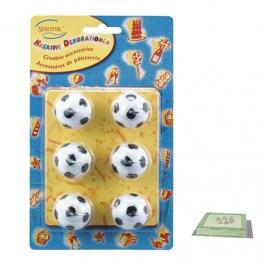 Set de velas balón de fútbol
