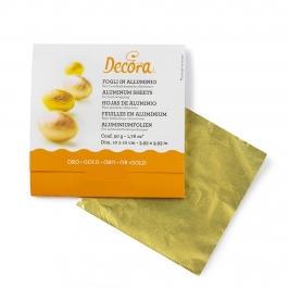 Papel para Envolver Dulces Color Dorado