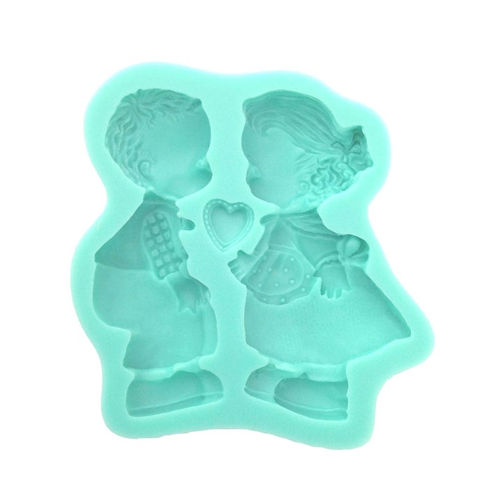 Molde de Silicona Niño y Niña