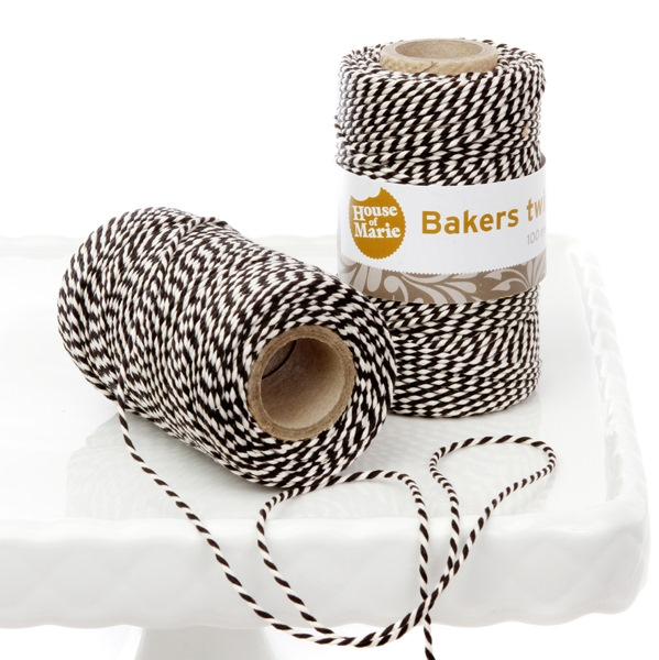 Bakers Twine Negro 20 mts.