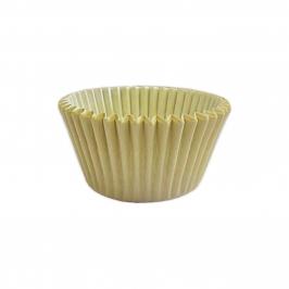 Cápsulas para cupcakes color Marfil (48 uds)