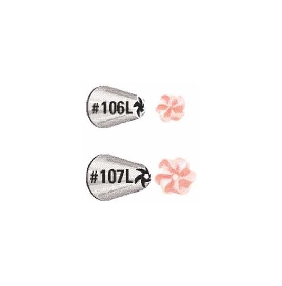 Set boquillas dropflower 106/107 especial zurdos