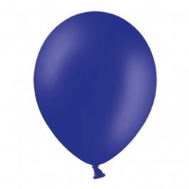 Set de 100 Globos de Látex Azul Royal Pastel 23 cm