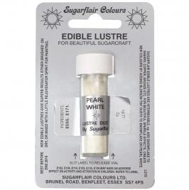 Colorante en polvo metalizado Blanco Perla Sugarflair