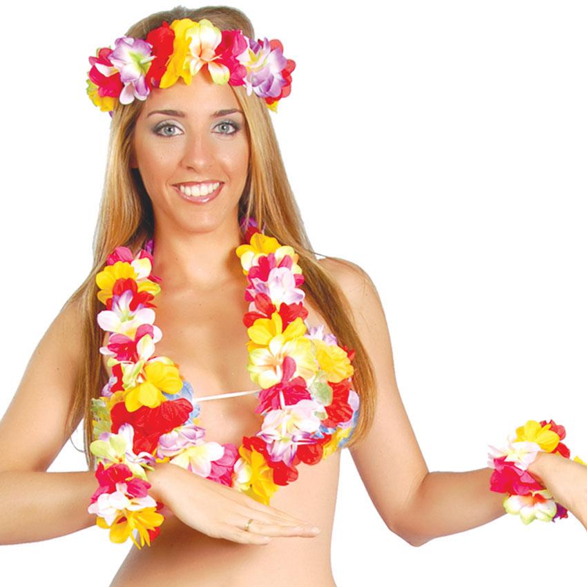 Set Hawaii Multicolor 4 Piezas