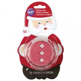 Cápsulas para Cupcakes Santa