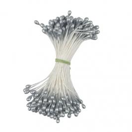 Estambres para flores Medium Round Silver
