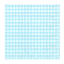 Servilletas Gingham blue