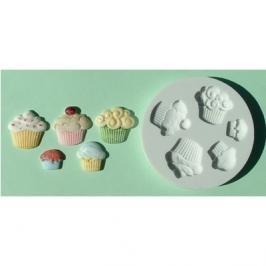 Molde silicona Cupcakes