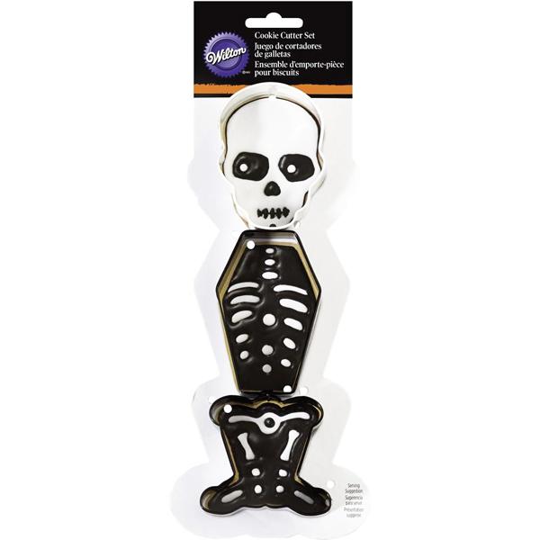 Set de 3 Cortadores Esqueleto