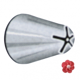 Boquilla #140 dropflower acero inox