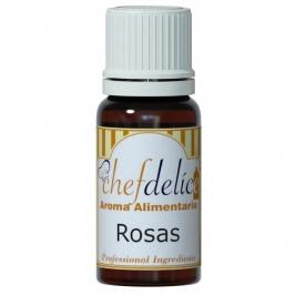 Aroma Concentrado de Rosas Chef Delice