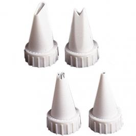 Set 4 boquillas para decorar