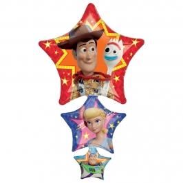 Globo Foil Estrellas Toy Story 1 m