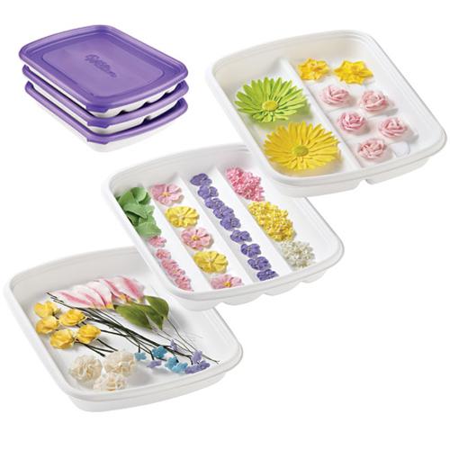 Set Bandejas para formar y almacenar flores