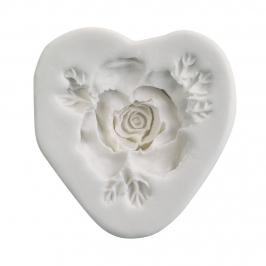 Molde silicona para rosas