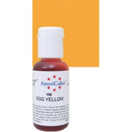 Colorante en gel Amarillo Huevo Americolor