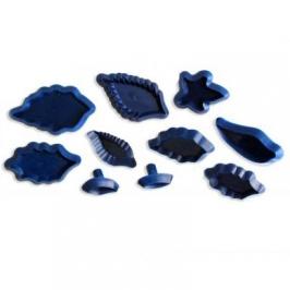Set de 10 mini cortadores hojas JEM