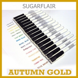 Rotulador comestible color autum gold
