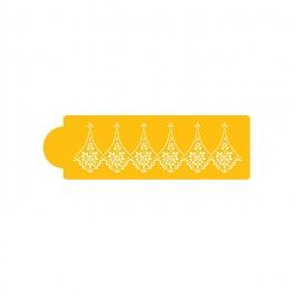 Stencil especial bordes Alencon lace