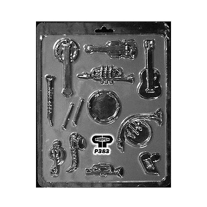 Molde para chocolate Instrumentos Musicales