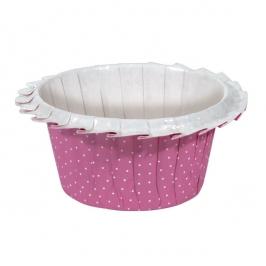 Cápsulas para Muffins Pink Polka Dot
