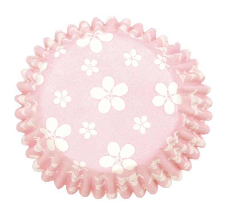 Cápsulas para cupcakes blossom Pink