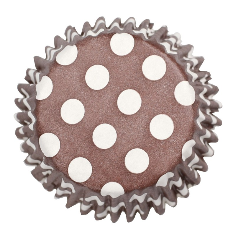 Cápsulas chocolate polka dot