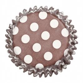 Cápsulas chocolate polka dot