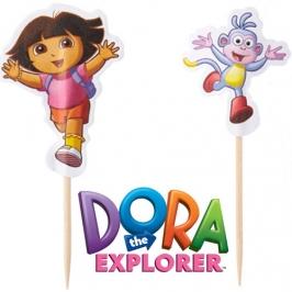 Pack de 24 Toppers Dora la Exploradora