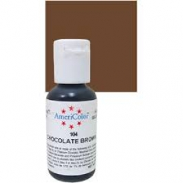 Colorante en Gel Marrón Chocolate Americolor