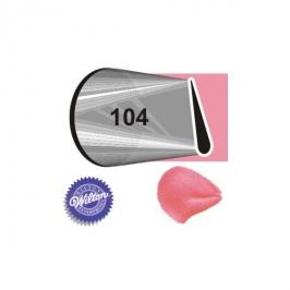 Boquilla # 104 pétalo