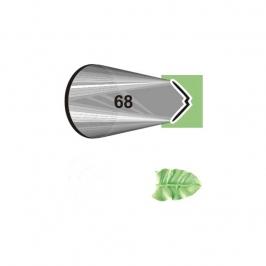 Boquilla #68 hoja en acero inox.