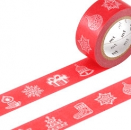 Masking Tape Lace Ornament