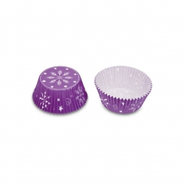 Cápsulas Cupcakes Crystal moradas