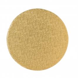 Cake Drum dorado Redondo 25,4cm