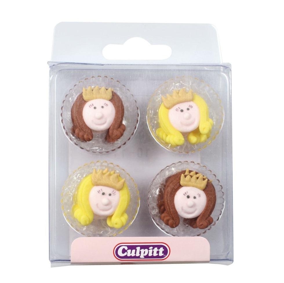 Set 12 decoraciones Princesas