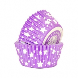 Cápsulas cupcakes purple Stars Squires Kitchen