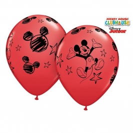 Pack de 6 Globos Mickey Mouse 30 cm