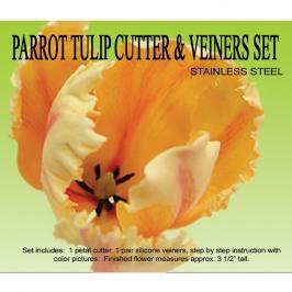 Kit Tulip Parrot: Cortadores y Marcador