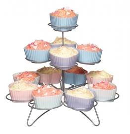 Stand para cupcakes de metal Miniamo de 3 alturas
