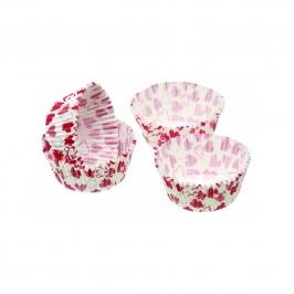 Cápsulas para cupcakes Red Hearts