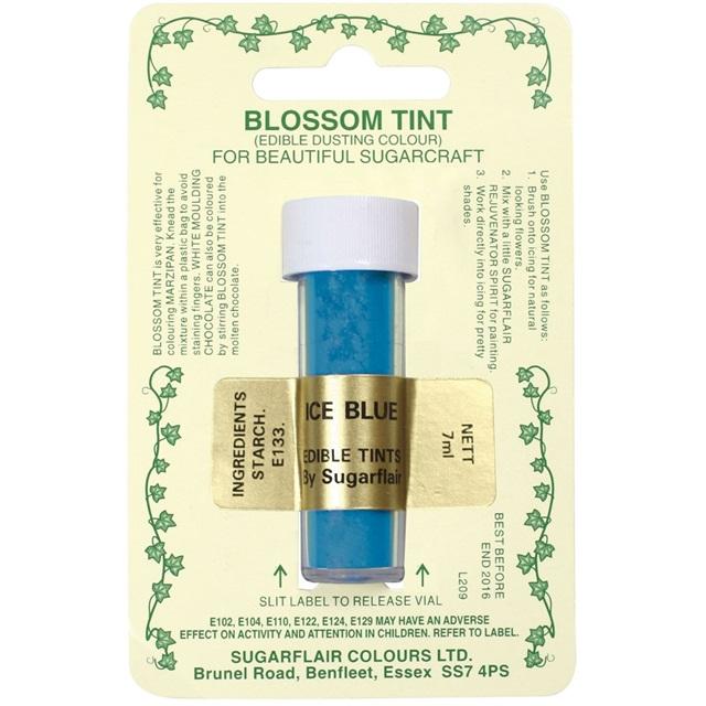 Colorante en polvo Sugarflair Azul Hielo