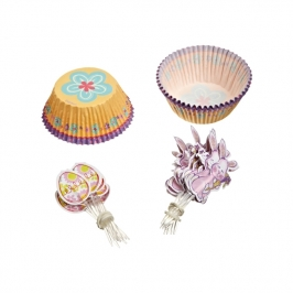 Combo cupcakes Spring Garden Wilton